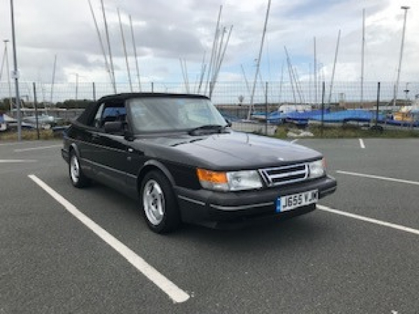 1991 Saab 900i Convertible for sale